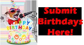 Submit Birthdays