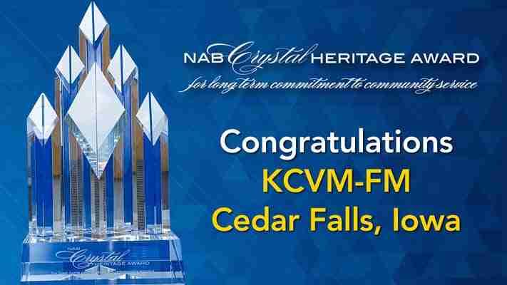NAB Crystal Heritage Award Winner